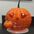 Pumpkin candy basket image