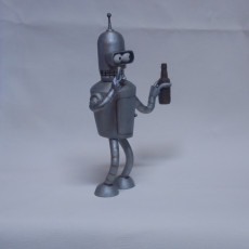 Picture of print of Bender Futurama