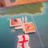 """Ports/Harbours for the Boardgame """"Merchants & Marauders"""" or in german """"Korsaren der Karibik"""" print image"""