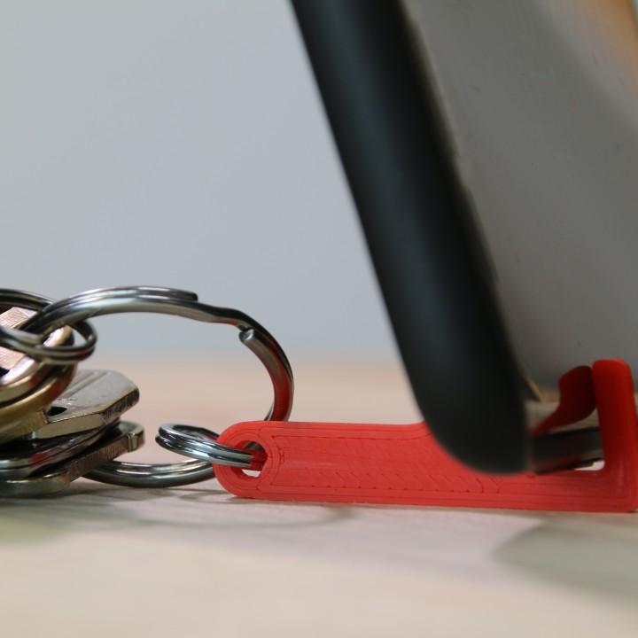 Keychain Phone Kickstand