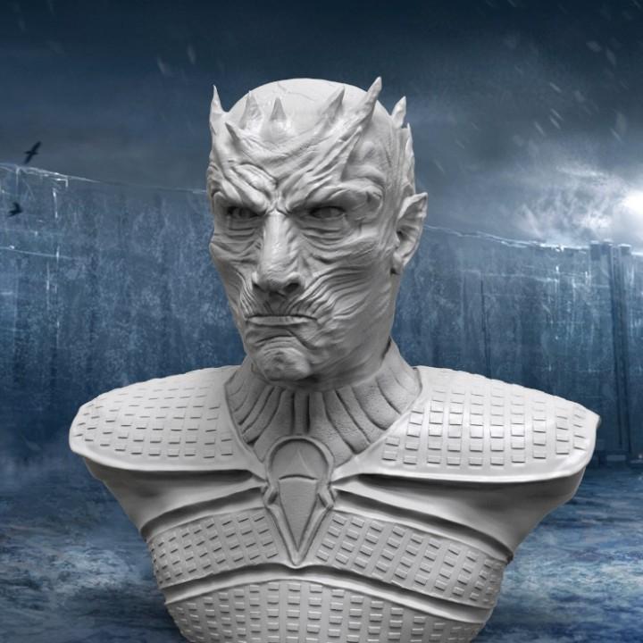 The Night King Bust v2 - Game of Thrones
