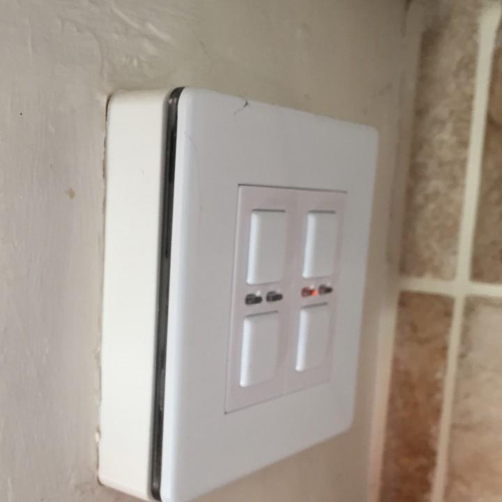 UK Light Switch Pattress Extension