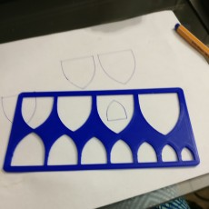 Picture of print of Heraldic Escutcheon Template This print has been uploaded by Dannielle Wentzel