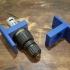 Cordless drill motor mechanism bracket image