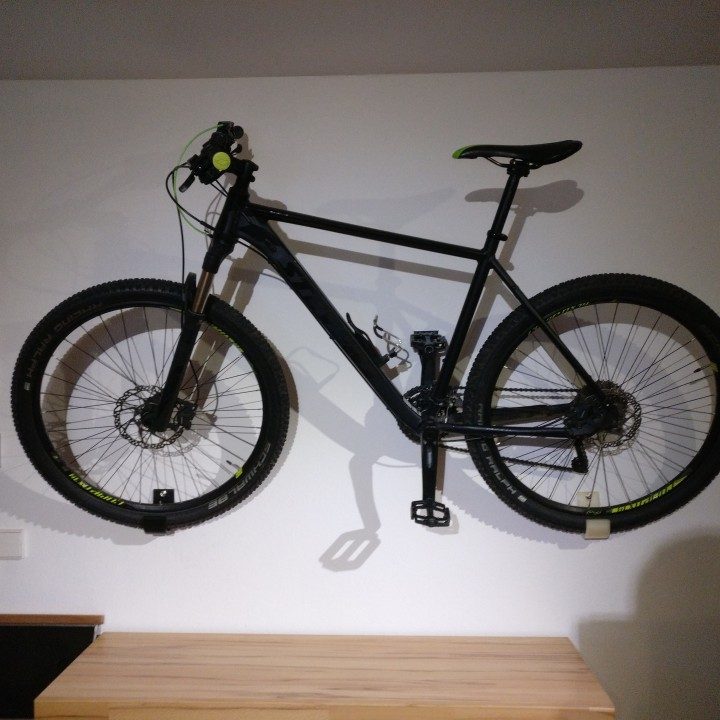 mountain bike wall mount