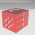 boite simple avec poignée et ouverture simple image