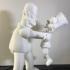Homer and Bart 3D print image
