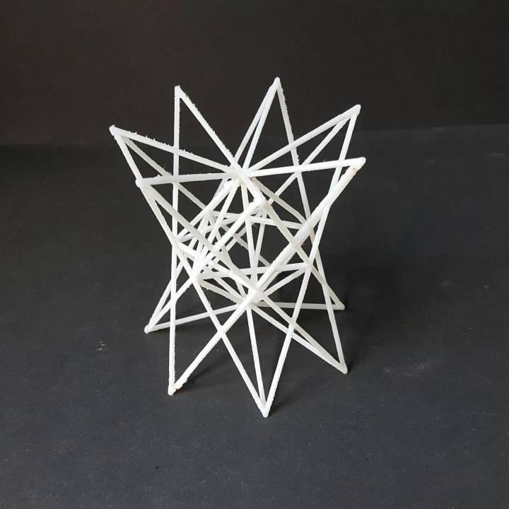 04 - Heptagrammic Concave Trapezohedron