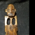 Carved Taino Shaman Figurine from Dominican Republic image