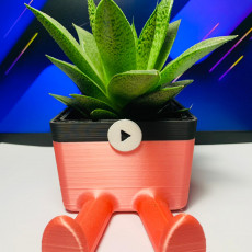 Picture of print of Succulent Planter / 3D printed planter / Legged Planter