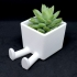 Succulent Planter / 3D printed planter / Legged Planter primary image