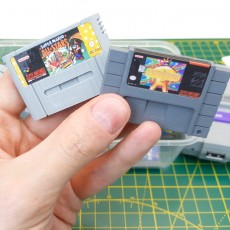 Mini SNES Cartridges