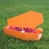 Skull coffin treat bowl image