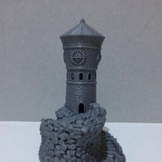 Picture of print of Forbidden Watchtower
