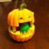 Pumpkin candy holder image