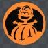 peanut linus halloween magnet image