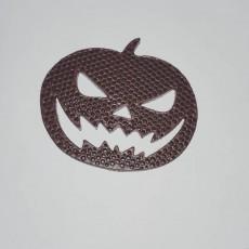 Picture of print of halloween pumpkin
