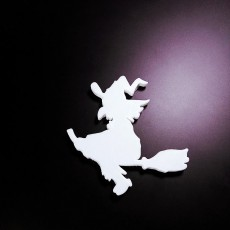 halloween witch magnet 2