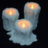 Melting Candle Tea Light Candle Holders image