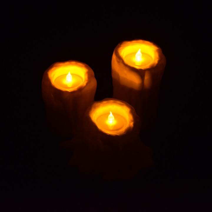 Melting Candle Tea Light Candle Holders