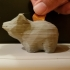 Faceted Piggy Bank image