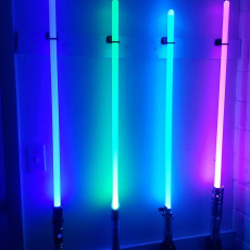Picture of print of Light Saber Wall Mount