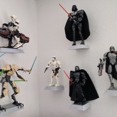 Picture of print of Lego Star Wars Figure Wall Mount