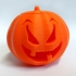 Halloween Pumpkin with tea light holder. image