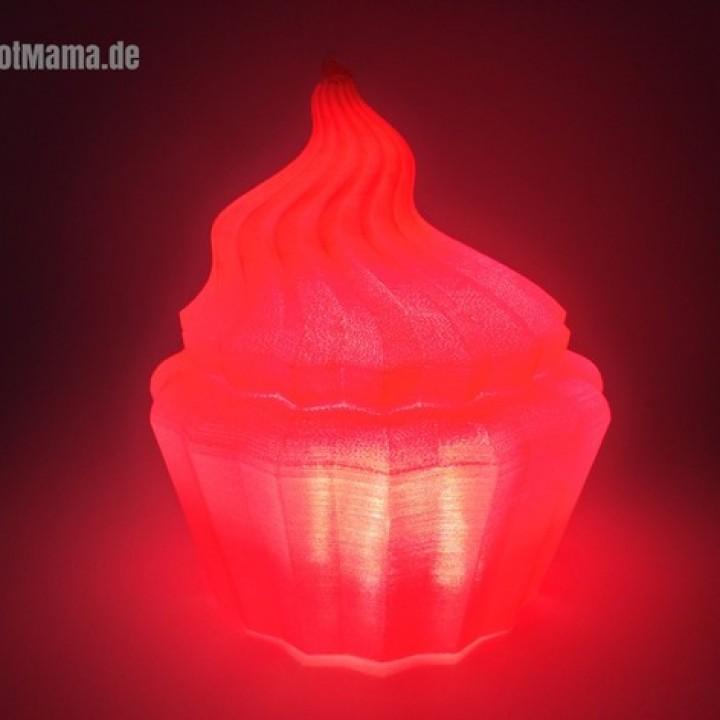 LED Christmas Cupcake Light Decor