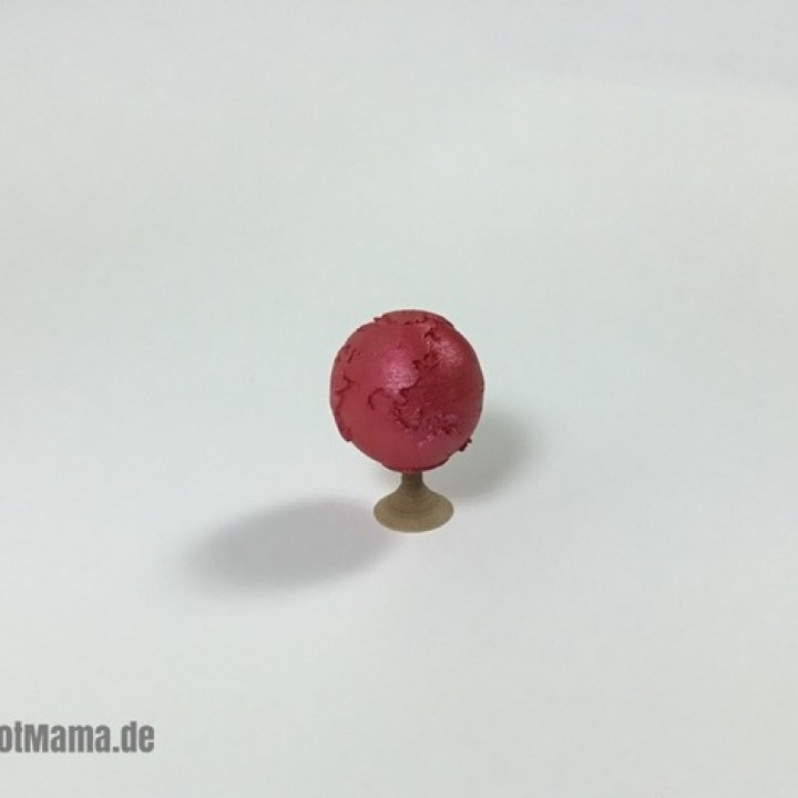 Miniature Earth Globe with Stand