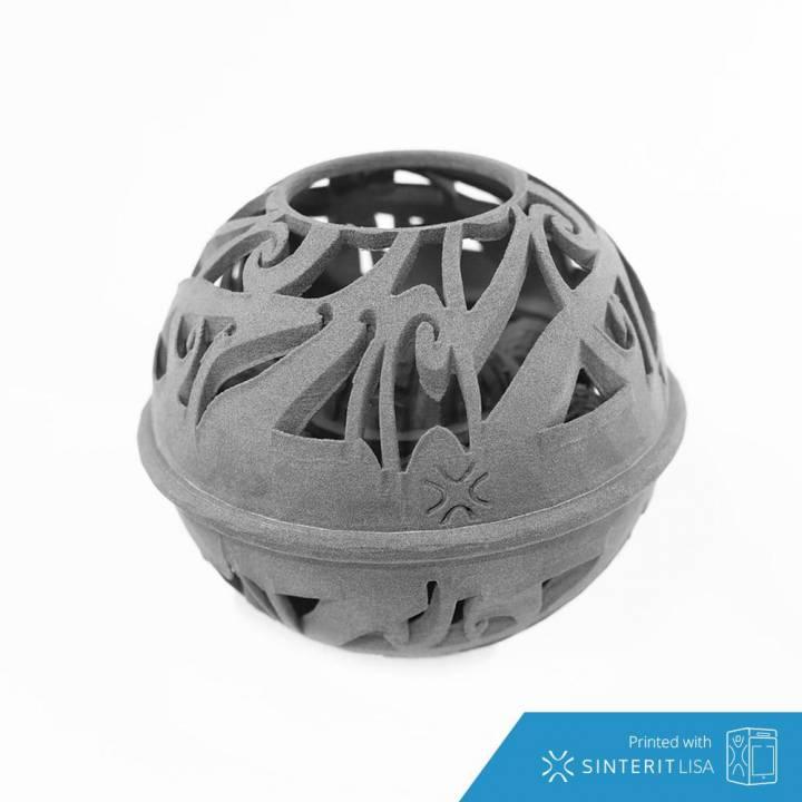 3D Printable Rotating Planetary Gear Orb by Adam Samaeli