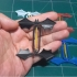 Rubber Band-Powered Flying Bat image