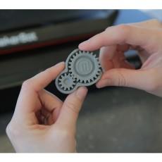 Makerbot fidget gears