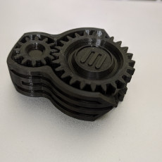 Picture of print of Makerbot fidget gears