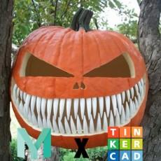 Teeth kit for pumpkins