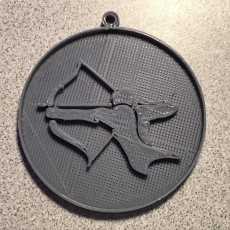 archer keychain