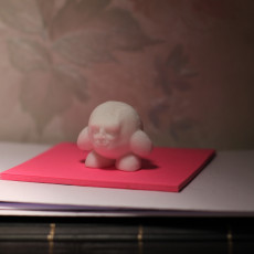 Picture of print of Kirb