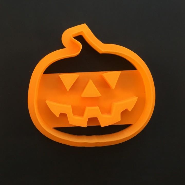Pumpkin Cookie Cutter, 3D printed Cookie cutter, Halloween