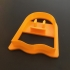 Ghost Cookie Cutter, 3D printed Cookie cutter, Halloween image