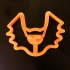 Bat Cookie Cutter, 3D printed Cookie cutter, Halloween image