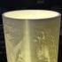 Star wars the last jedi lithophane lamp print image