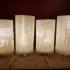 Hogwarts lithophane lamp image
