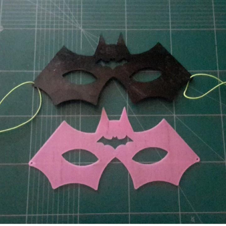 Halloween Bat Mask