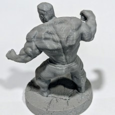 Picture of print of The Hulk