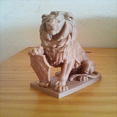 Picture of print of Stone Lion
