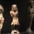 Terracotta Statuette of an enthroned Pharaoh image