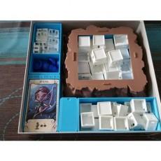Santorini boardgame insert box
