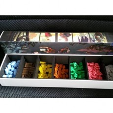 Outlive deluxe boardgame insert box