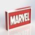 Marvel Logo Plaque Rectangle image