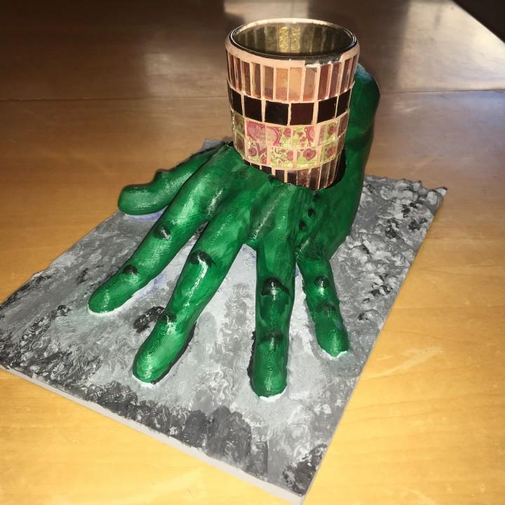 Alien Candle Holder